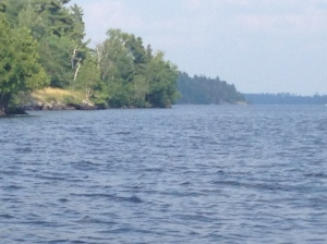 Just a few more photos of the lake from the boat.
