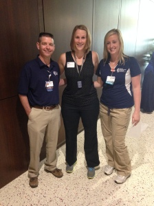 My PT and OT Team. There were many more therapists that I worked with, but these two put up with me the most. ;)