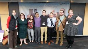Western Illinois University representing at ACPA (I am on the far left)